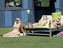 Ashley, Janelle, and Wil Sunbathing, Watch All!