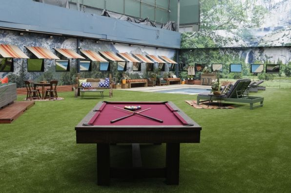 Big Brother 18 Backyard picture